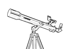 Terrestrial viewing scopes