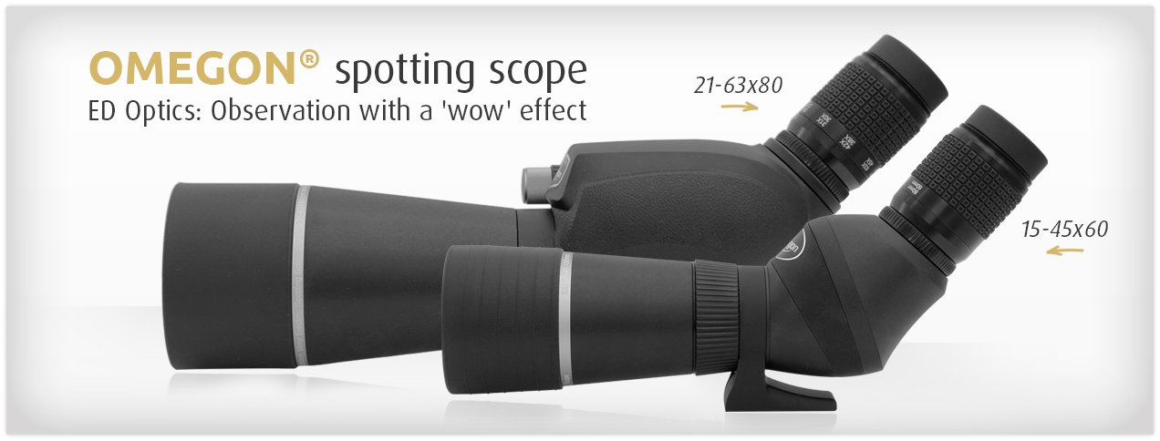 Omegon ED spotting scopes