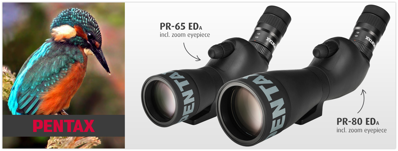 Pentax PR ED-Spotting Scopes