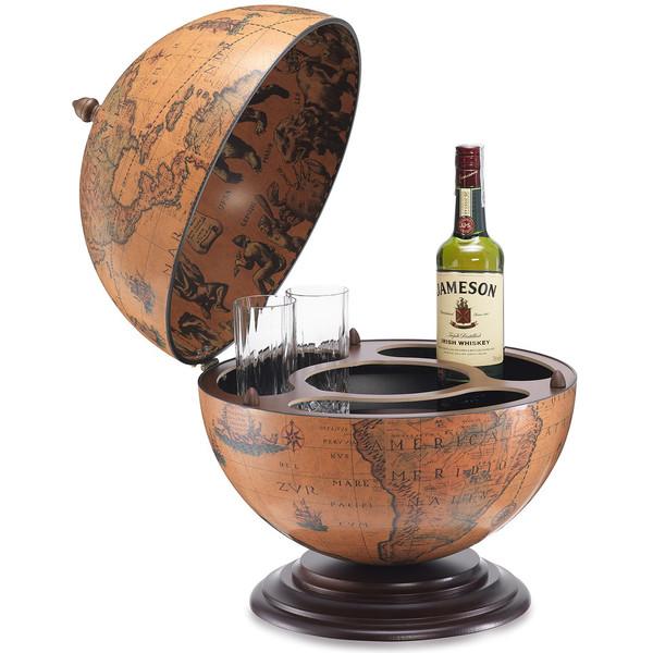 Zoffoli Barglobus Nettuno 40cm Antiquitäten & Kunst Wissenschaftliche Instrumente