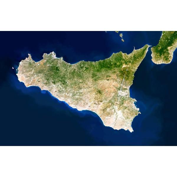 Planet Observer Mapa Regionalna Region Sycylia