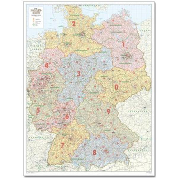 Bacher Verlag Harta Codurilor Postale Germania