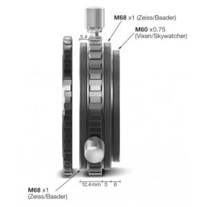 """Baader Adattatore per proiezione oculare M68/2""""/M68 e innesto 2"""""""
