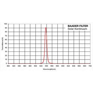 """Baader Blocking Filters 1,25"""" solar continuum filter"""
