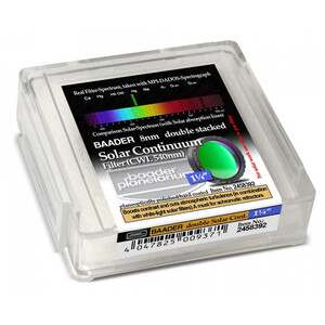 "Baader Filtro solare 1,25"" Continuum stack 2 filtri"
