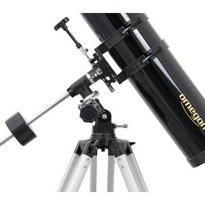 Omegon Teleskop Telescopio N 114/900 EQ-1 Set