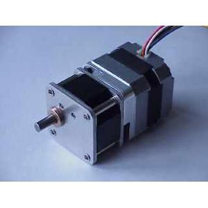 Astro Electronic SECM3-Schrittmotor mit Getriebe 10:1, Welle Durchmesser 6mm