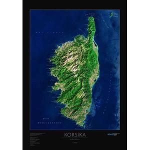 albedo 39 Mappa Regionale Corsica