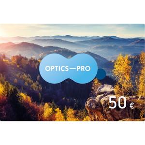 Optik-Pro.de bon d'un montant de 50 euros