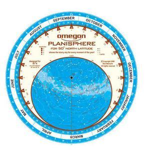 Omegon Carta de estrelas Planisfério