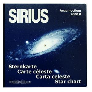 Freemedia SIRIUS - Carte céleste