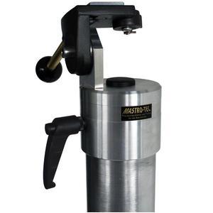 Mastro-Tec Fernrohr Azimutal Outdoor Spektivkopf mit Säule