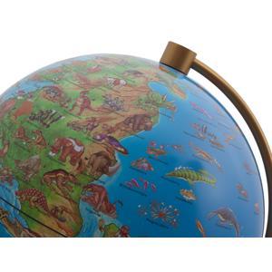 Stellanova Kinderglobus DinoZ Kinder-Leuchtglobus 8828911, prähistorische Welt