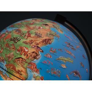 Stellanova Kinderglobus DinoZ Kinder-Leuchtglobus prähistorische Welt 28cm