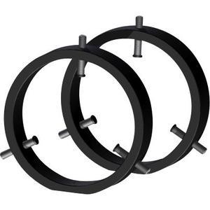 Omegon Abrazarderas de 130 mm para tubo conductor.