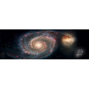 Palazzi Verlag Poster Whirlpool Galaxy