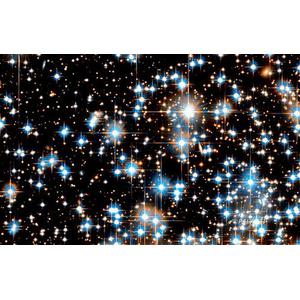 Palazzi Verlag Poster Globular Cluster - Hubble Space Telescope 75x50