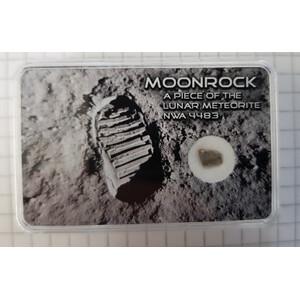 Autentico meteorite lunare NWA 7959, grande