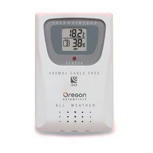 Oregon Scientific Czujnik temperatury i wilgotności THGR 810 do WMR 100