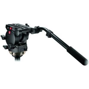 Manfrotto Testa video reclinabile 526 Pro Fluid con semisfera 100mm e 357PLV