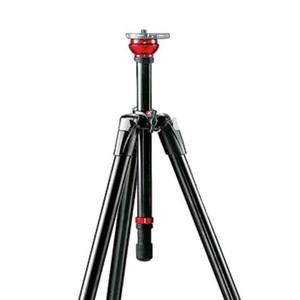 Manfrotto Treppiede Aluminio 755XB MDEVE-Video con semisfera 50mm con bolla