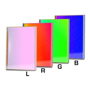 Baader L-RGB-CCD - Jeu de filtres 50x50 mm
