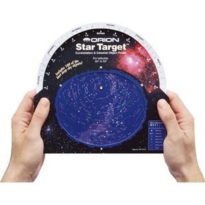 Orion Carta Stellare Star Target Planisphere 30-50 degree north