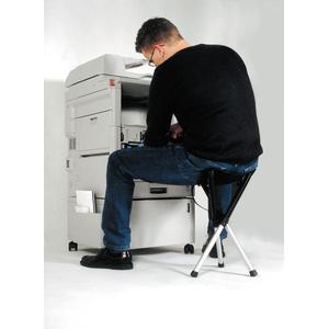 Pleasing Walkstool Comfort 75 Folding Stool Black Squirreltailoven Fun Painted Chair Ideas Images Squirreltailovenorg