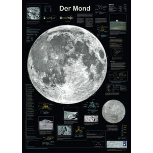 Planet Poster Editions Poster Mond
