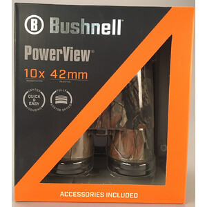 Bushnell Fernglas Powerview 10x42, Realtree Camo