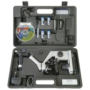 Bresser Junior Biolux CEA Microscope Set, USB eyepiece, case, 40 -1024x,