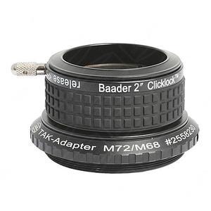 """Baader 2"""" ClickLock Klemme M72 für alle großen Takahashi Refraktoren"""