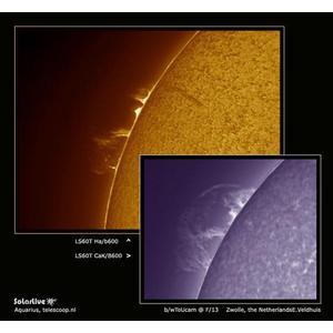 Lunt Solar Systems Telescopio Solare Lunt ST 60/500 LS60T Ha B1200 C PT OTA