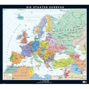 Europa Karte Physisch.Klett Perthes Verlag Kontinent Karte Europa Physisch Politisch