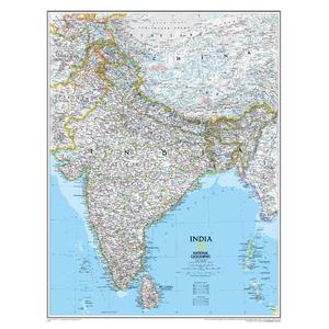 National Geographic Mappa India