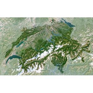 Carte géographique Planet Observer Suisse