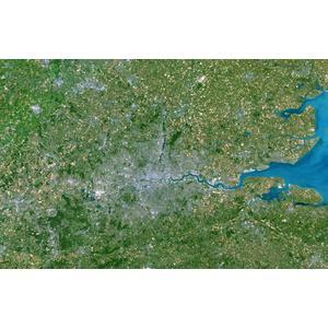 Planet Observer Regional map Greater London