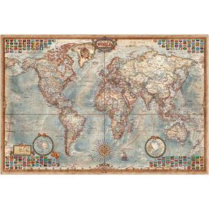 RayWorld Antique map Executive, laminated