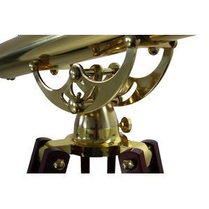 Omegon Telescopio de latón MT 60/700 28x