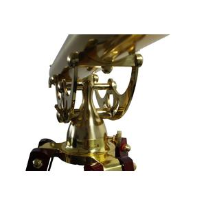 Helios Optics Telescopio de latón MT 60/700 28x