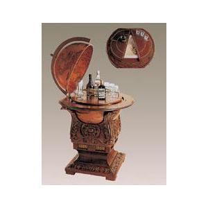 zoffoli barglobus bar globus mit k hlschrank art 71. Black Bedroom Furniture Sets. Home Design Ideas