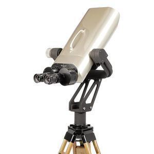 Omegon Fernglas Nightstar 25x100 mit 45° Einblick und Gabelmontierung inkl. Stativ