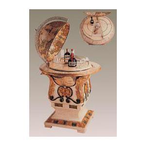 zoffoli barglobus bar globus mit k hlschrank art 71 9. Black Bedroom Furniture Sets. Home Design Ideas