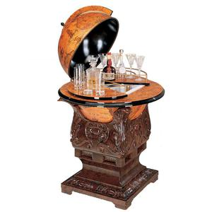 zoffoli bar globe art 71 14 mit k hlschrank. Black Bedroom Furniture Sets. Home Design Ideas