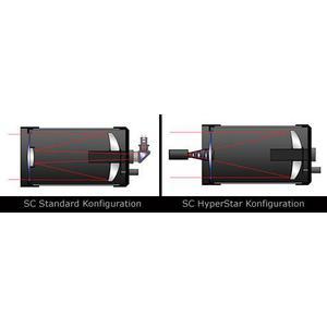 Starizona Hyperstar für Celestron C8 v4 mit Filterschublade