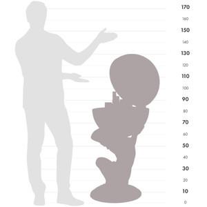 Zoffoli Globe Bar Atlas 50cm