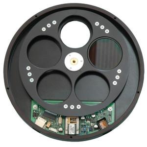 Starlight Xpress Rueda de filtros USB para 7 filtros 36mm con rosca T (macho) + rosca T (hembra)