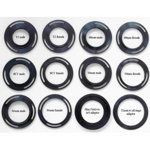 "Starlight Xpress Rueda de filtros USB para 5 filtros 2"" con rosca T (hembra) + rosca T (macho)"