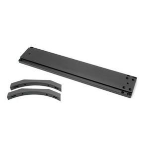 """Farpoint Raíl prismático de 3"""" para Meade 12"""" SC con caballetes de soporte"""