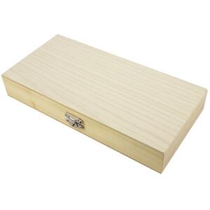 Omegon Conjunto de preparados permanentes 40 unidades em caixa de madeira